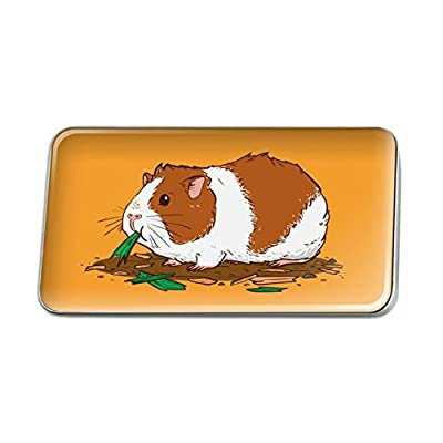 Hot Guinea Pig Eating Metal Rectangle Lapel Hat Pin Tie Tack Pinback supplier