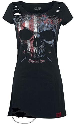 Rock Rebel by EMP Living Legend Korte jurk zwart