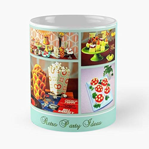 Retro Party Ideas 60s -funny Present For My Greatest Boss Male Or Female, Men, Women, Great Office Gift Mugs, Birthday, Leaving, Bold, Cup, 11 Oz]()