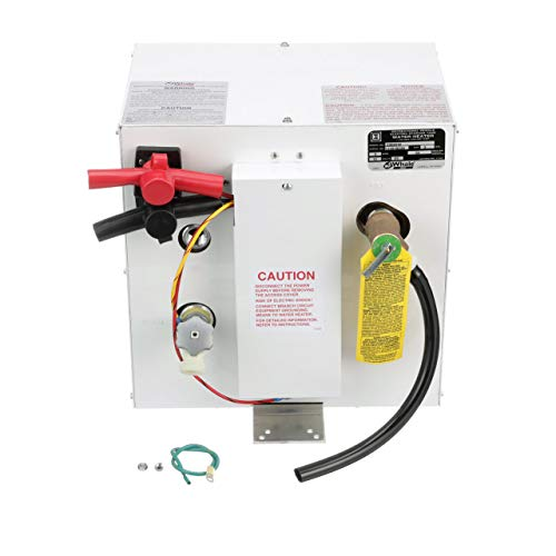 Whale S360EW 12V Water Heater, 3 Gallon Capacity, Quick and Efficient Water Heating, Maintains Hot Water up to 10 Hours, Runs on 12V DC Power, Ideal for Use with Deck Showers,