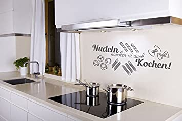Wandtattoo Nudeln Machen Ist Auch Kochen Nr 1 Kuchen Wandspruche