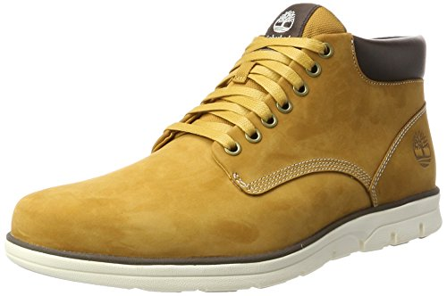 Timberland Mens Chukka Leather Boots Wheat Nubuck zutLvGA6XY