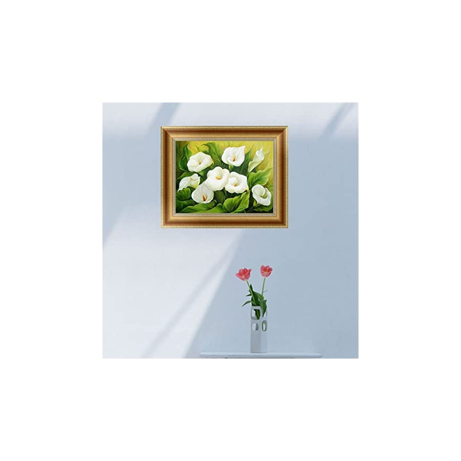 SCASTOE DIY 5D Calla lily Diamond Embroidery Painting Cross Stitch Craft Home Decor