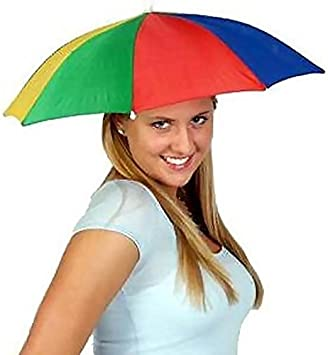 Gorra de sombrilla plegable paraguas - Sombrerería para adultos ...