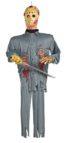 Friday The 13th Jason Voorhees 6' Hanging Prop Party Decoration by Rubie's