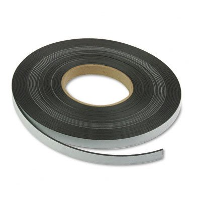 Magna Visual P-220P Magnetic/Adhesive Tape, 1/2 Inches x 50 Feet Roll