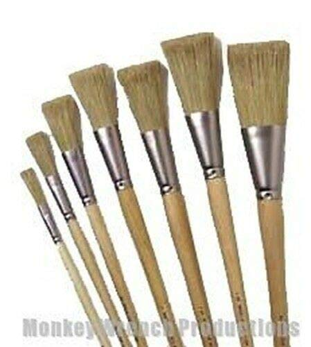 Arts and Crafts Store - Fitch Scenic Paint Brush 3/4'' - Iddings, Off-Broadway, Stage, Theater Ideal for doodling and journaling