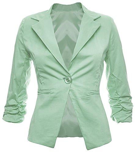 34 36 Business 40 Giacca Disponibile Mint Festa Blazer 42 Cotone 38 Donna 26 Elegante In Look Moda Colori Alla qOYn6gw