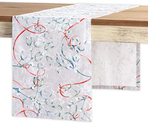 Maison d' Hermine Enora 100% Cotton Table Runner - Single Layer 14.5 Inch by 108 Inch.