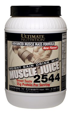 Ultimate Nutrition Muscle Juice - 2544 Weight & Mass Gainer (Cookie n' Cream, 4.96lb) ()