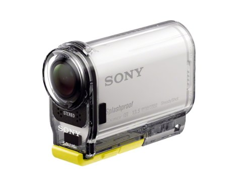 41cIsjiyWYL - Sony HDR-AS100VR POV Action Video Camera with Live View Remote (White)