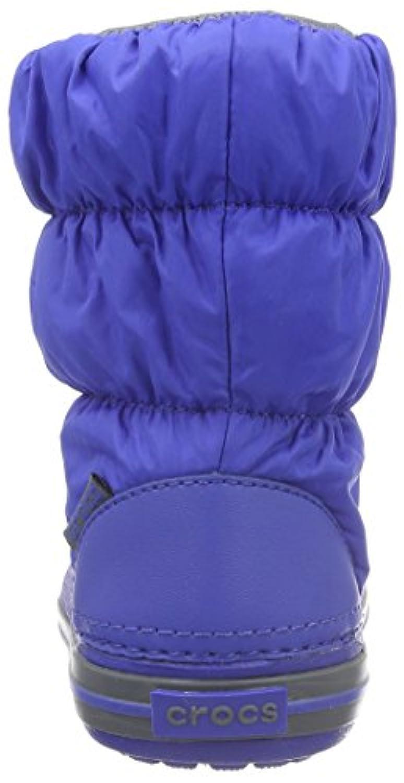 Crocs Unisex Kids' Winter Puff Snow Boots, Blue (Cerulean Blue/Light Grey), 34-35 34/35 EU