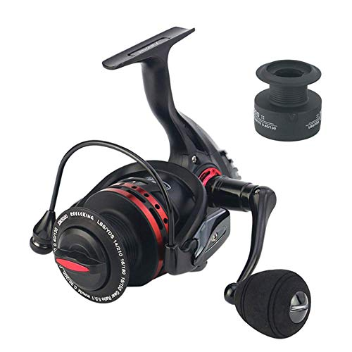 (Spinning Fishing Reel, with Extra Spool 1000-7000 Series Optional, Freshwater Fishing Reel 10 kg MAX Drag,3000model)