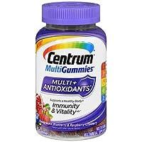 Centrum MultiGummies Multi + Antioxidants Pomegranate-Blueberry & Raspberry-Cranberry...