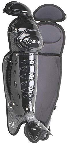 Diamond Sports Umpire Leg Guards, Posi-fit Size 18.5-Inch, Pair -