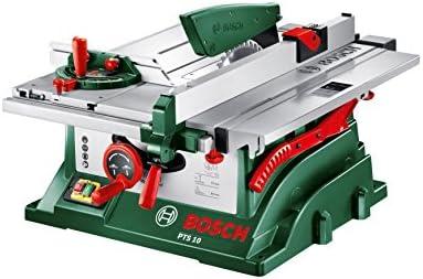 Berühmt Bosch Tischkreissäge PTS 10 (1400 Watt, im Karton): Amazon.de EN14