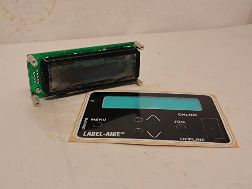 Label Aire 9800101 ECL Display Card W/Faceplate 16x2 for sale  Delivered anywhere in USA