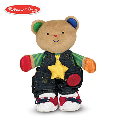 (Melissa & Doug K's Kids - Teddy Wear Stuffed Bear Educational Toy)