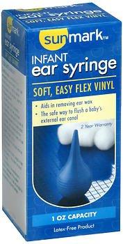 Sunmark Infant Ear Syringe - 1 ct, Pack of 6