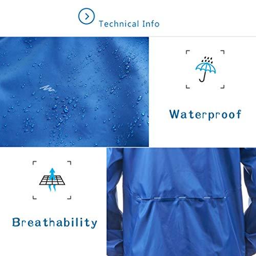 Hombre Montañismo Metro Chaqueta Para Poncho tamaño Lyp Senderismo Adulto Almacenamiento rainwear Ropa Montar Buen Portátil Impermeable qBg4I