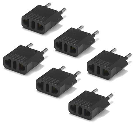 United States to Greece Travel Power Adapter to Connect North American Electrical Plugs to Greek outlets For Cell Phones…