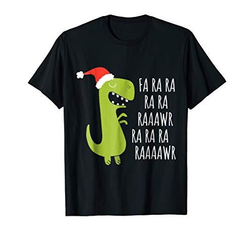 (Funny Dinosaur Fa Ra Ra Rawr Rawr Christmas T-Rex Xmas)