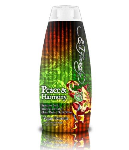 Ed Hardy Peace & Harmony Tanning Intensifier Bronzing Moisturizer Lotion 10 Oz by Ed Hardy