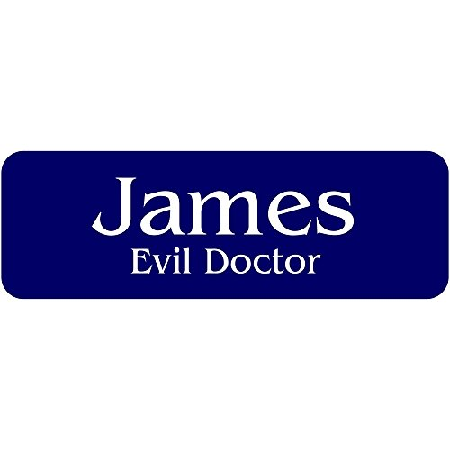 Evil Doctor Halloween Costume Name Tag - Funny Halloween Costume -