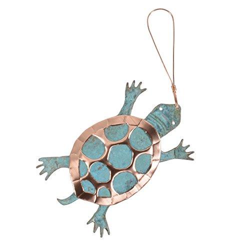 Dos Damas Designs Desert Turtle Copper Ornament
