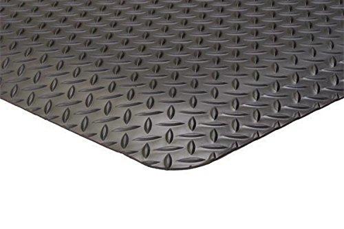 3'x 8' Approx 5/8''Thick Diamond Plate Surface Anti Fatigue Matting & Industrial Mat.