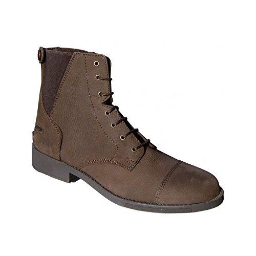Boots equitación capitoleen Nubuck 44CHOCOLATE
