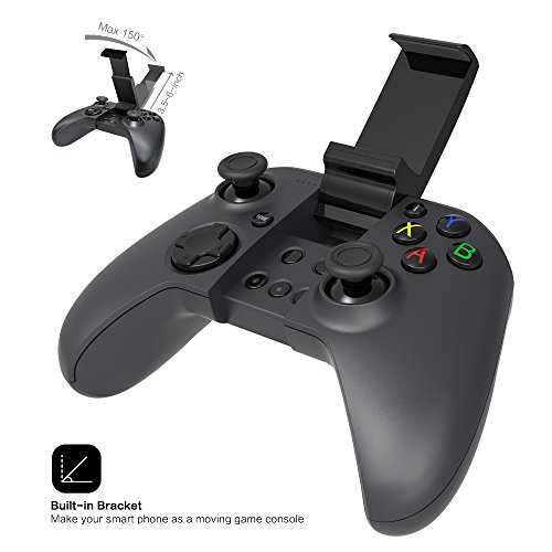 Game Controller MYGT Bluetooth Wireless Gaming Controller Gamepad for Android Smartphone Windows PC PS3 VR TV Box by MYGT (Image #4)
