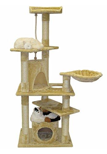 go-pet-club-cat-furniture-condo-62-inch-beige