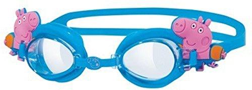 Kids Pool Swimming George Pig Character Anti Fog Childrens Swim Goggle Pack Of 6 by Sportsgear US