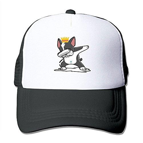 Caps Vre Dabbing Boston Terrier Dog Women Lovely Baseball Cap Hat Cap Hat (Terrier Cap Womens)