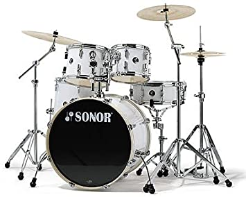 b690b2888057 SONOR FORCE 1007 - STAGE 2 - SNOW WHITE  Amazon.co.uk  Musical Instruments