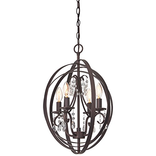 Chandelier Style Country (Stone & Beam French Country Orb Chandelier, 21