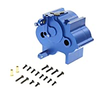 GPM Racing Alloy Center Gear Box for 1:8 HPI Flux + Other HPI Models, Blue