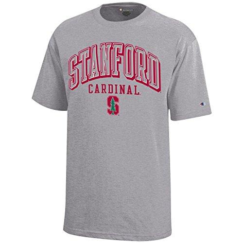 NCAA Champion Boy's Short Sleeve Jersey T-Shirt Stanford Cardinal Small
