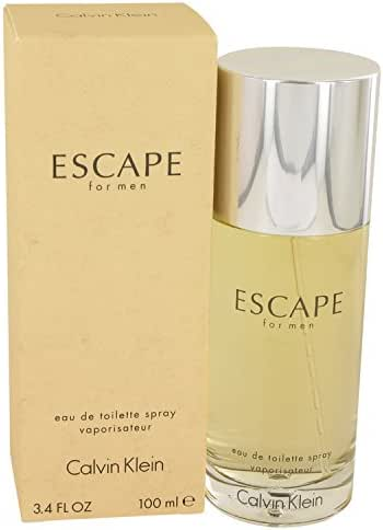 CK Escape men Eau De Toilette Spray 3.4 OZ.