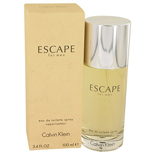 ESCAPE by Cålvîñ Klëîñ for Men Eau De Toilette Spray 3.4 oz ()