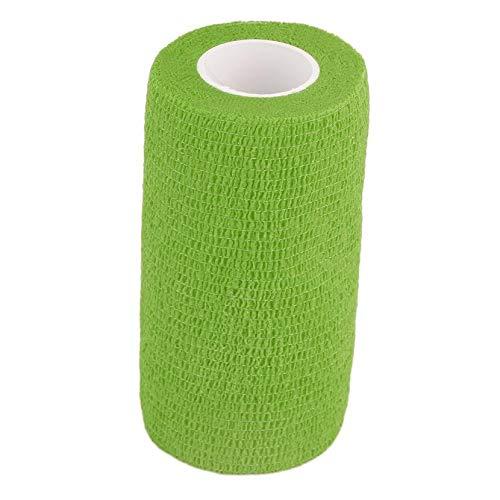 Yogasada Autoadherente Vendaje Vendas elásticas de Primeros Auxilios Cinta Stretch 4.5mx 10cm