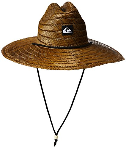 (Quiksilver Men's Pierside Straw Hat, Dark Brown, 2XL)