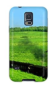 Mary David Proctor JVehIoI2036ZPfhc Case Cover Galaxy S5 Protective Case Mother Nature And A Train