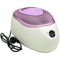 Bañera de Parafina Digital de 2.5 litros con tapa morada para cara mano y pies todo el cuerpo