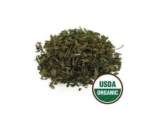 USDA Organic & Kosher Certified Dried Peppermint Leaf Mentha Piperita c/s 16 oz(1 lb) by SS102