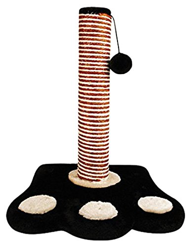 ITP-Feet-Shape-Cat-Scratching-Post-Pole-Activity-Centre-Play-Toy-Climbing-Sisal