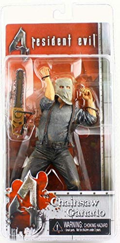 Resident Evil NECA 4 Series 1 Action Figure Chainsaw Ganado