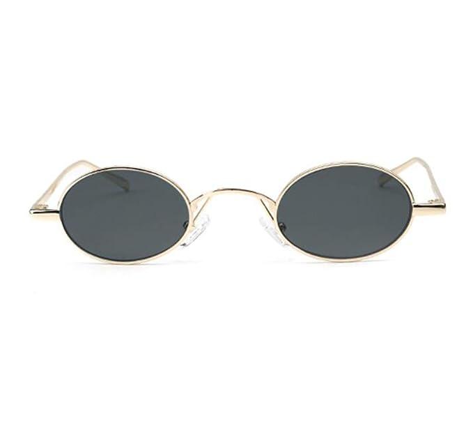 Gafas de sol retro polarizadas elípticas retro UV400 de los ...