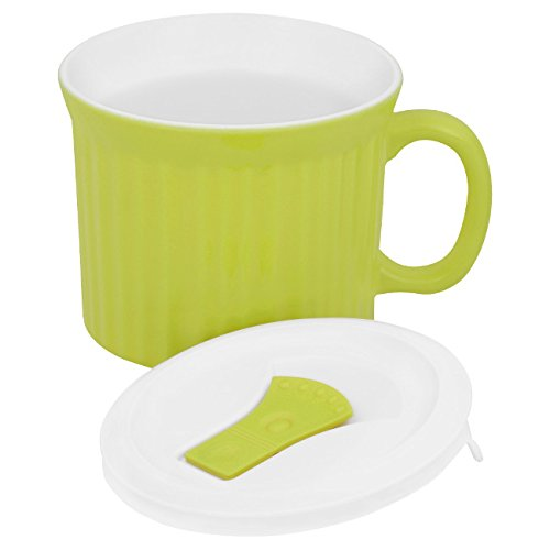 Corningware Colours Pop-Ins Sprout 20-oz Mug w/ Lid (Pop Oz 22 Mug Ins)